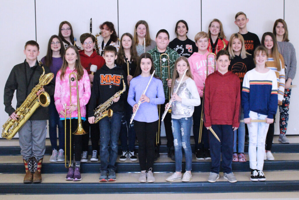Pictured are the students who scored a Superior rating. Row 1 from left: Lance Riley, Megan Thompson, John Robbins Jr., Gracie Hunter, Elizabeth McDonald, Rickie Robinson ll and Lauren Rice. Row 2 from left: Penelope Petrucci, Aubree Robinson, Marra Tharp, Dakoda Anderson, Heidi Williams, Tori Dixon and Alexis Gunn. Row 3 from left: Tessa Hewitt, Annadra Dudley, Dulaney Anderson, Madelyn Thompson, Megan Williams, Jude Thomas and Brooke Sharp.