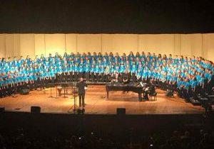 2018 All State Children's Chorus Stage Picture
