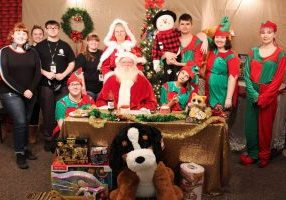 To watch WJMH Media's production of Santa's Workshop tune in daily from December 3, to December 24, 2018 on West Liberty University's WLU-TV, Comcast Xfinity channel 14. New episodes will air every Monday. The show times are at 7:00 am, 7:30 pm, and 10:30 pm.