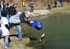 Fish Stocking Pic 1