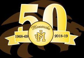 John Marshall 50gh Anniversary Logo