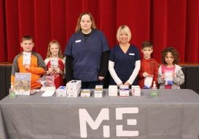 Glen Dale Elementary School and MedExpress teamed up Thursday morning to educate the students about basic first aid and injury prevention.