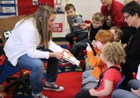 This year Marshall County Schools began using a program in the special needs Pre-K classes and other Special Education classes that builds the students' language skills by blending special education and speech-language pathology.
